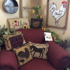 Farmhouse Pillows & Sign